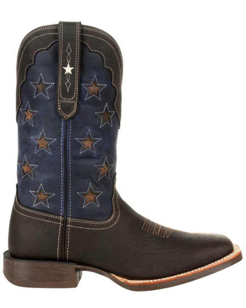 Durango Men's Rebel Pro Vintage Flag Western Boots - Square Toe, Brown, hi-res