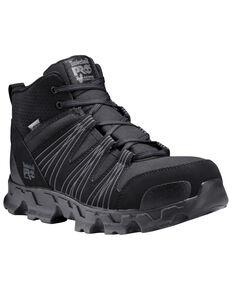 Timberland Pro Men's Powertrain Sport Work Boots - Alloy Toe, Black, hi-res