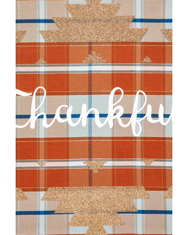 Boot Barn Ranch Thankful Wall Art, Orange, hi-res