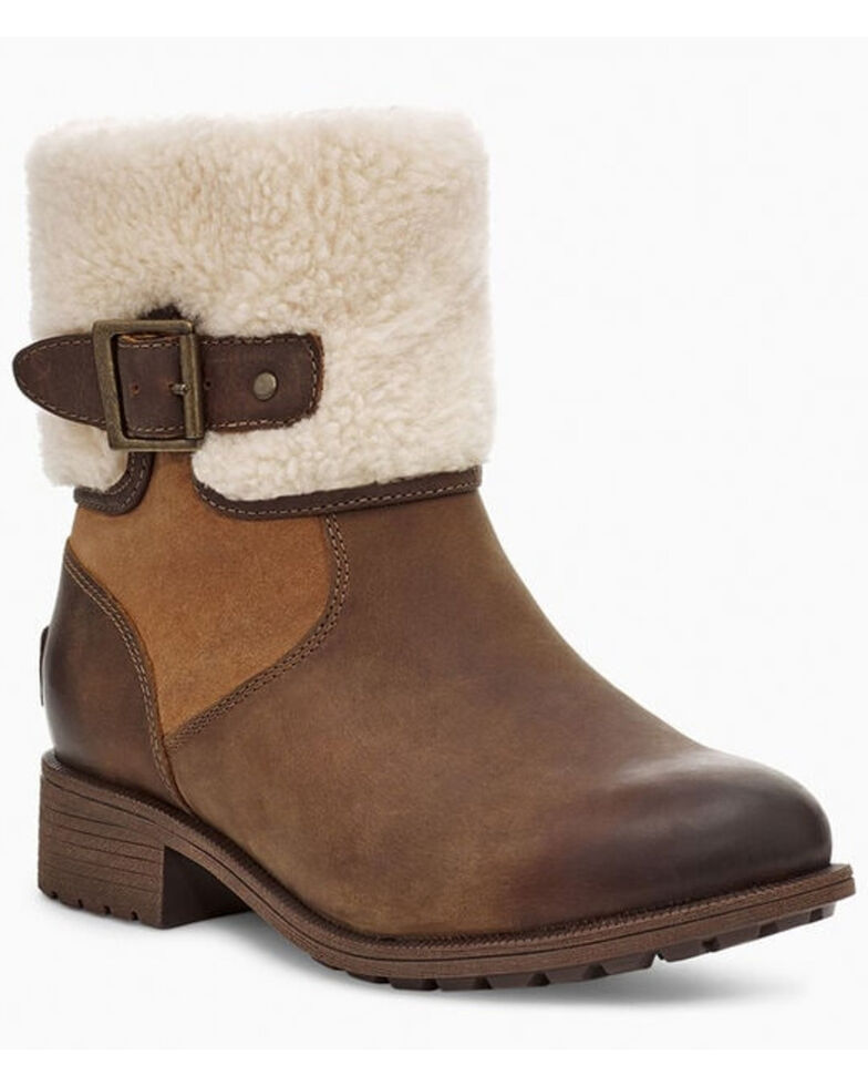 UGG Women's Elings Short Boots, Chestnut, hi-res