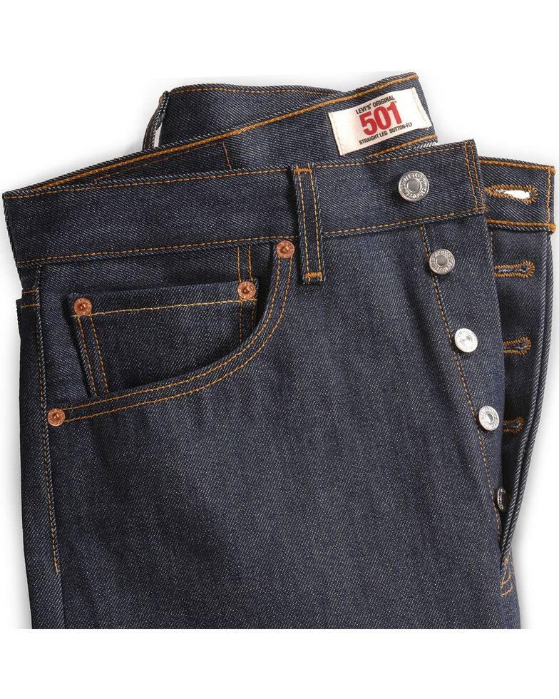 57a9f815 Zoomed Image Levi's 501 Jeans - Original Shrink-to-Fit, Indigo, hi-res