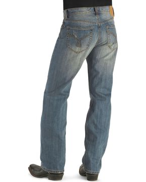 Tin Haul Regular Joe Heavy Distressed Jeans, Blue, hi-res