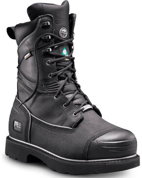 Timberland Pro Men's Waterproof Insulated ST Mining Boots, Black, hi-res