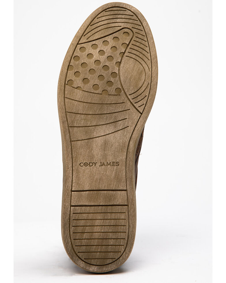 Cody James Men's Freestyle Slip-On Shoes, Tan, hi-res