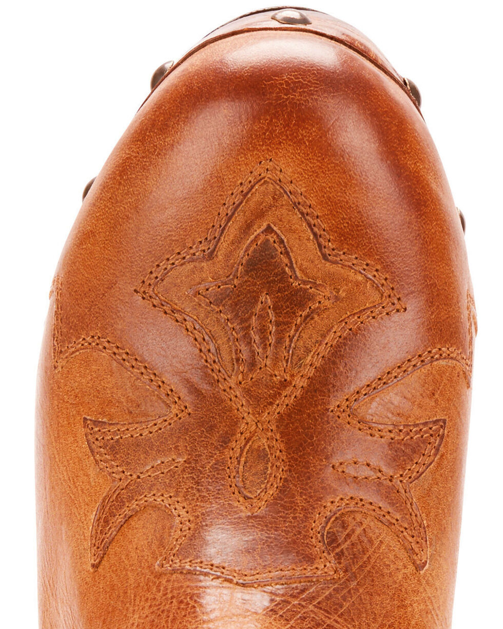 Ariat Women's Tan Music City Booties - Round Toe , Tan, hi-res