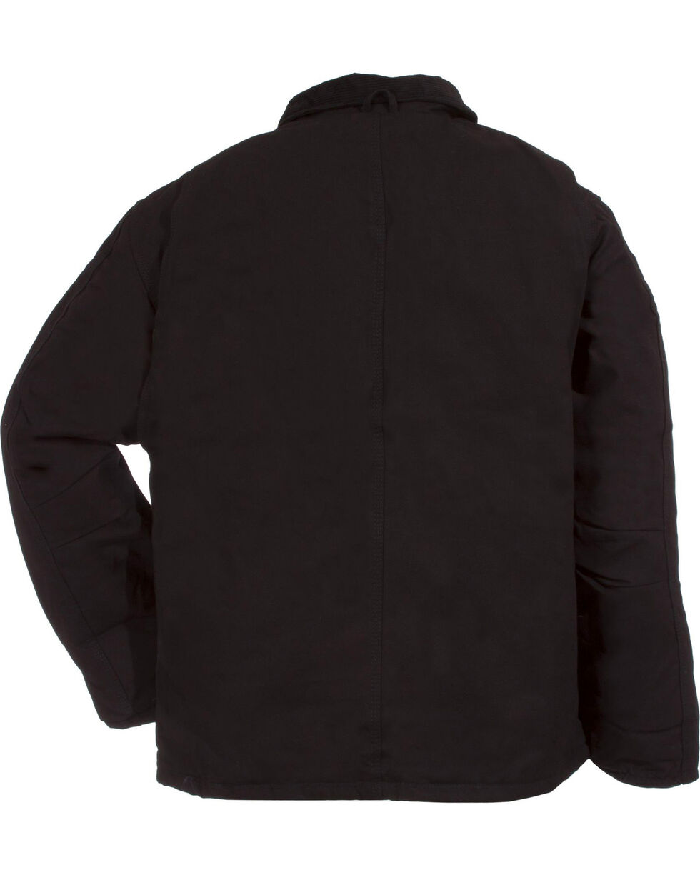 Berne Duck Original Chore Coat, Black, hi-res