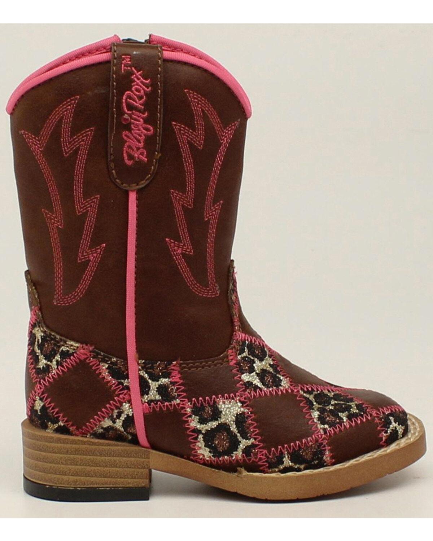 44702-02 Blazin Roxx Girl/'s Savvy Cowgirl Boots