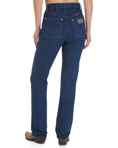Wrangler Women's Cowboy Cut Slim Fit Jeans, Indigo, hi-res