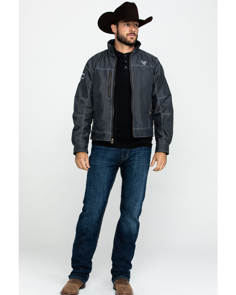 Cowboy Hardware Men's Black Tech Woodsman Jacket , Black, hi-res