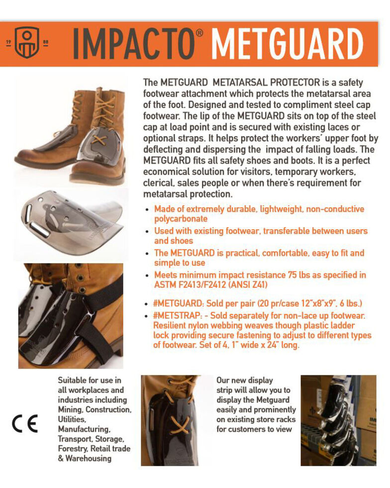 Impacto MetGuard Metatarsal Protecter, No Color, hi-res