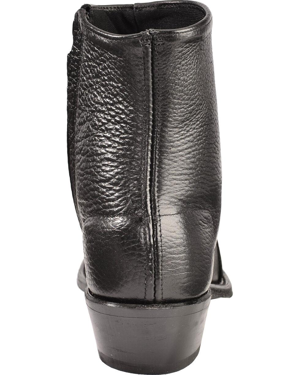 """Abilene Men's 7"""" Wingtip Zip Boots, Black, hi-res"""