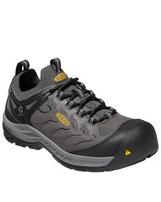 Keen Men's Flint II Sport Work Boots - Composite Toe, Black, hi-res