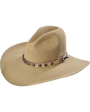 Stetson 3X Broken Bow Buffalo Cowboy Hat, Buck Tan, hi-res