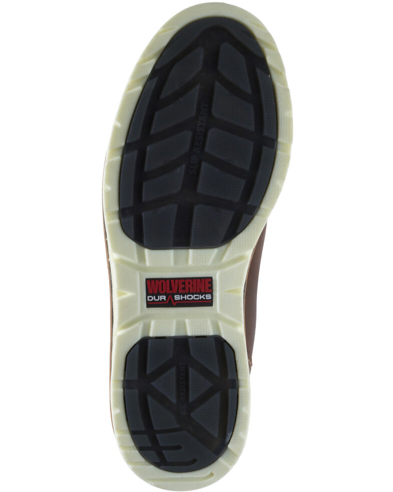 Wolverine Men's I-90 Durashocks Western Work Boots - Soft Toe, Tan, hi-res