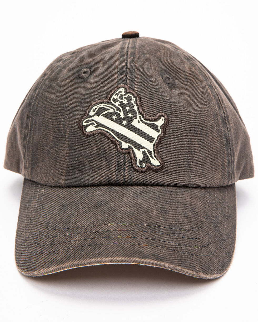 Cody James Men's Liberty Bull Baseball Cap, Blue, hi-res
