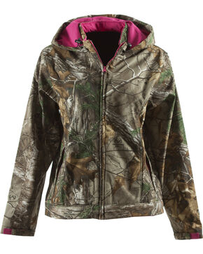 Berne Women's Huntress Softshell Jacket, Camouflage, hi-res