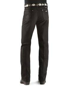Wrangler Men's Silver Edition Slim Fit Jeans, Black Denim, hi-res