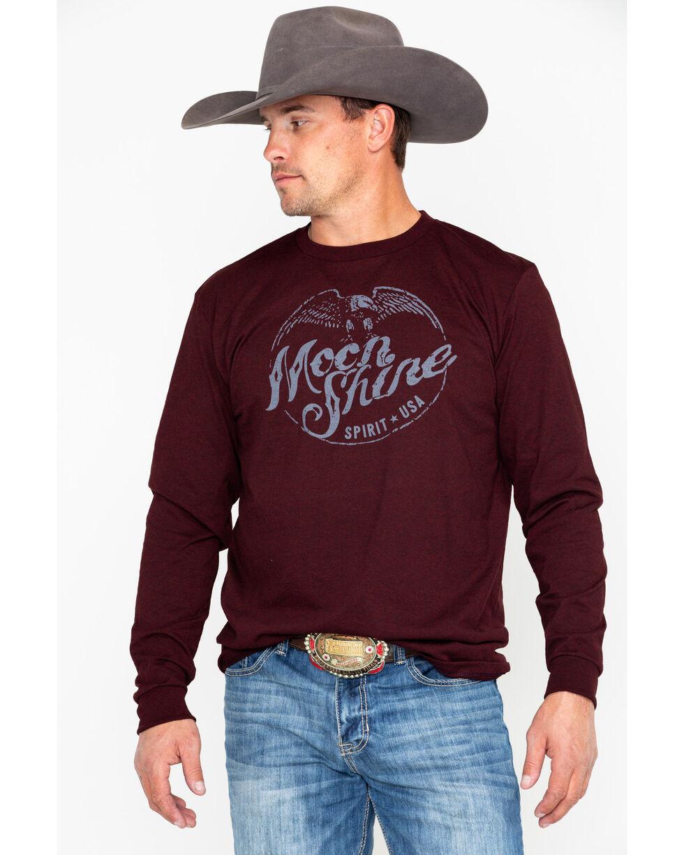 Moonshine Spirit Men's Eagle Stamp Graphic Long Sleeve Shirt , , hi-res
