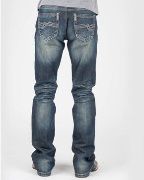Tin Haul Men's Jagger Fit Corded Boot Cut Jeans, Indigo, hi-res