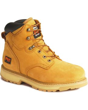Timberland Pro Men's Steel Toe Pit Boots Work Boots, Wheat, hi-res