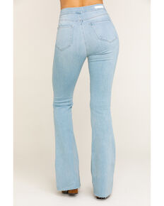 Cello Women's Light Wash Super Flare Jeans, Blue, hi-res