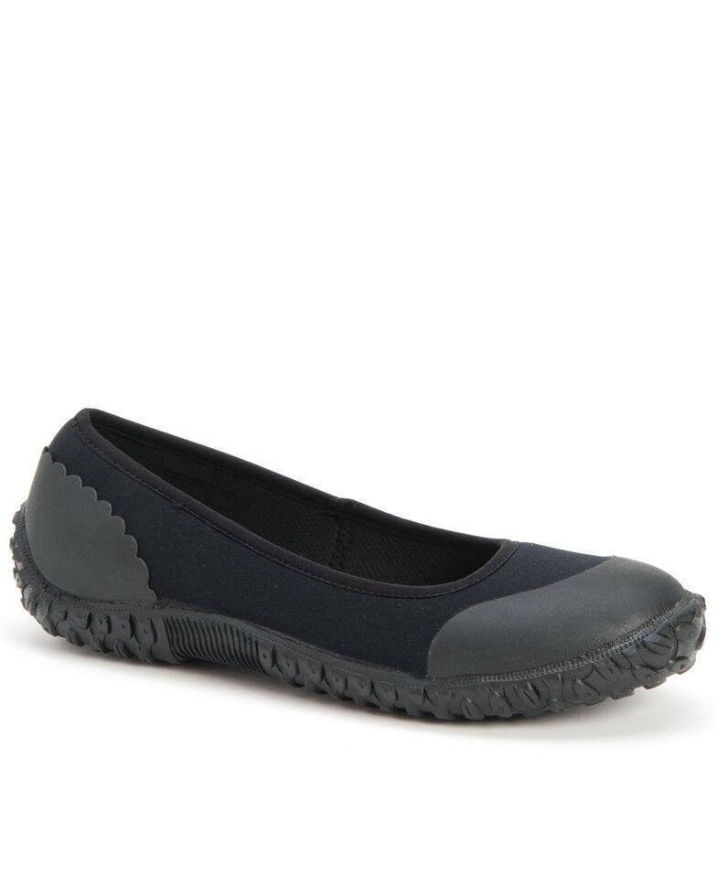 Muck Boots Women's Muckster II Flats - Round Toe, Black, hi-res