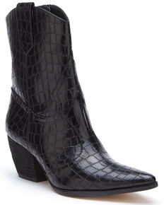 Coconuts by Matisse Women's After Dark Fashion Booties - Meduim Toe, Black, hi-res
