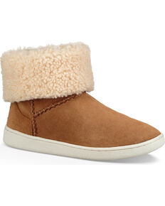 UGG Women's Mika Classic Sneakers, Brown, hi-res