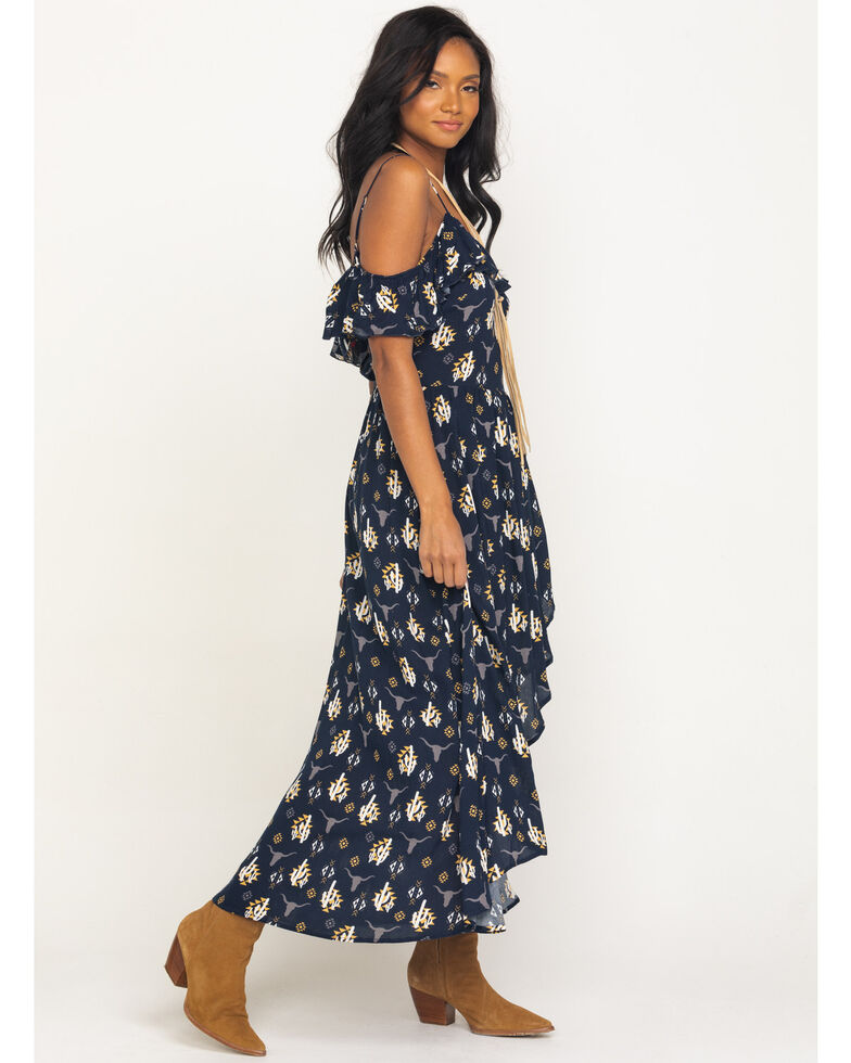 Ariat Women's Navy Seven Seas Dress , Navy, hi-res