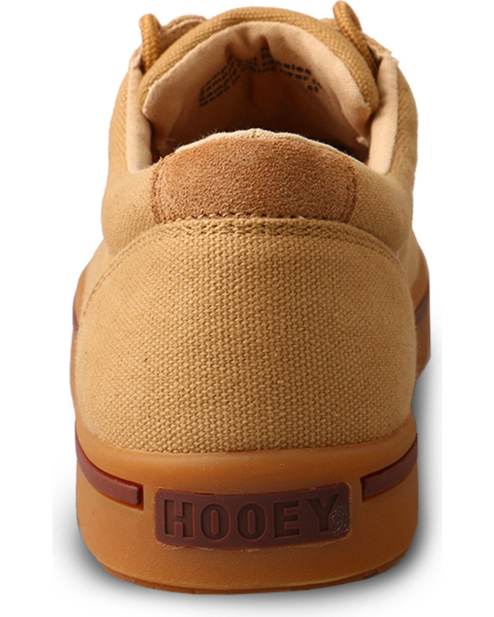 HOOey Lopers by Twisted X Men's Canvas Casual Shoes, Beige/khaki, hi-res