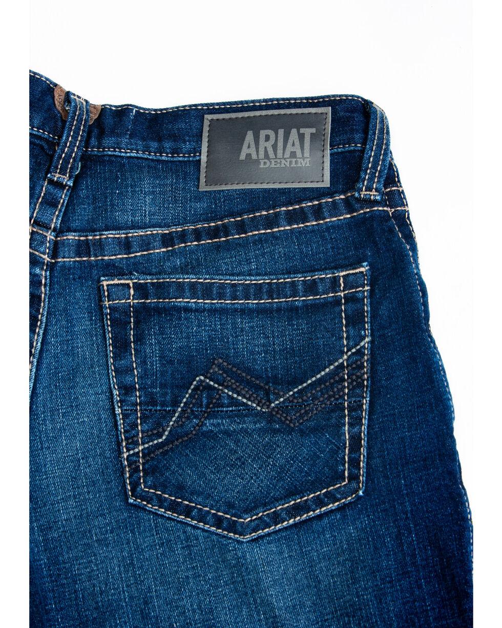 Ariat Men's M2 Denali Clyde Dark Relaxed Boot Jeans , Blue, hi-res