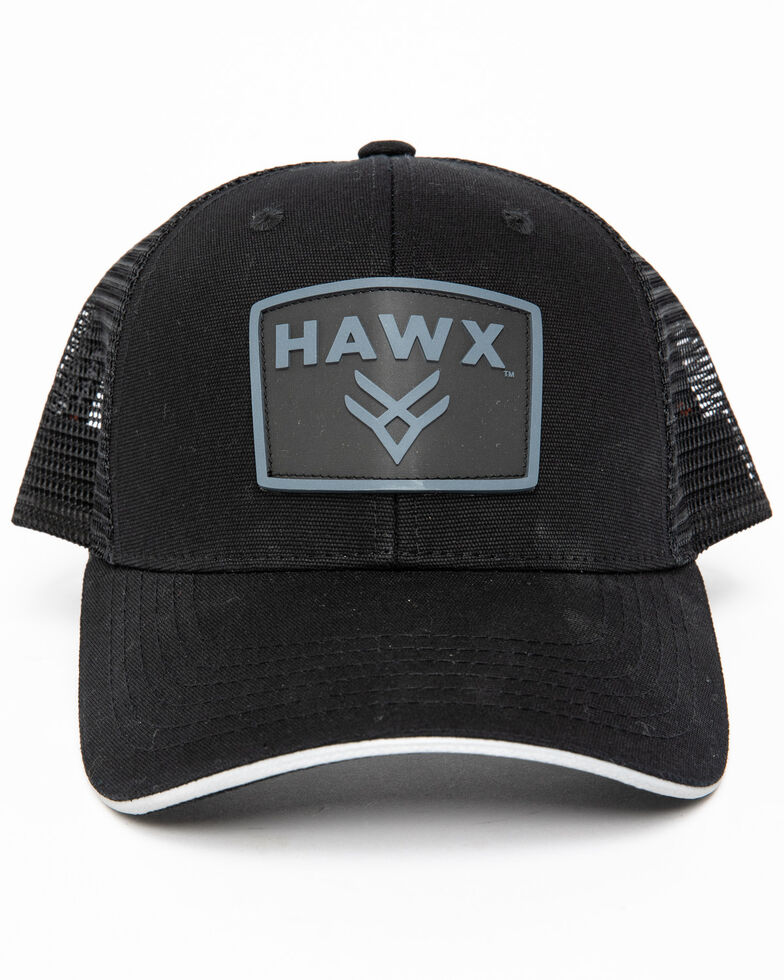 Hawx Men's Black Logo Patch Cap , Black, hi-res