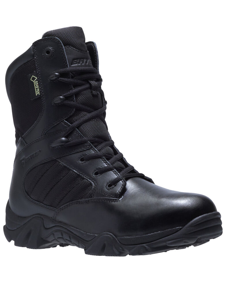 Bates Men's GX-8 Insulated Work Boots - Soft Toe, Black, hi-res