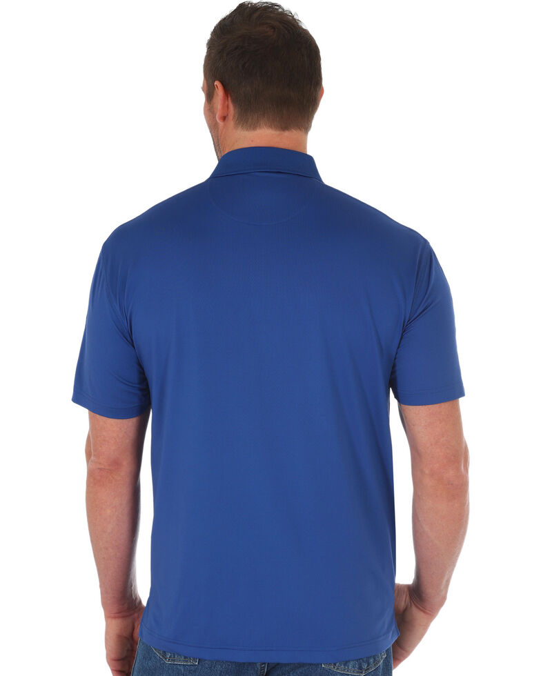 George Strait by Wrangler Men's Navy Performance Polo , Navy, hi-res