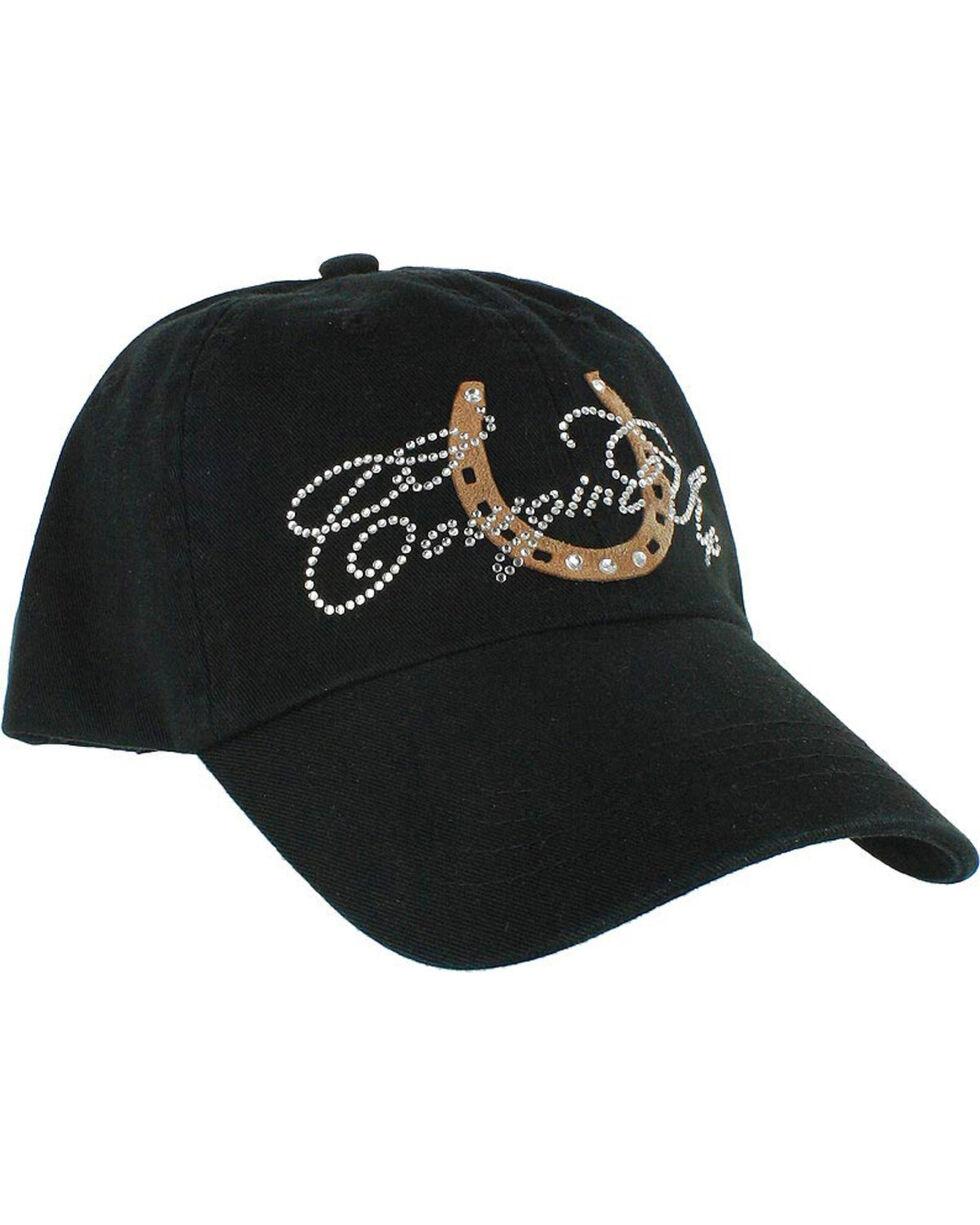Cowgirl Up Women's Rhinestone Ball Cap, Multi, hi-res