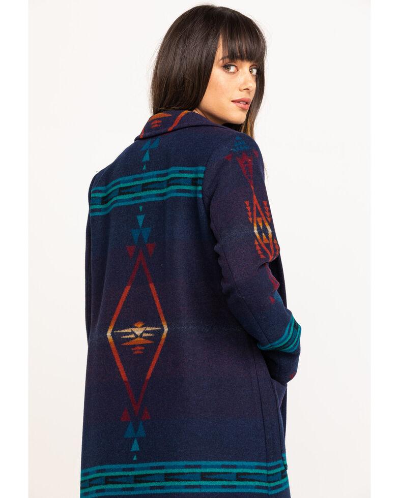 Pendleton Women's Saddle Mountain Thunderbird Jacquard Coat , Multi, hi-res