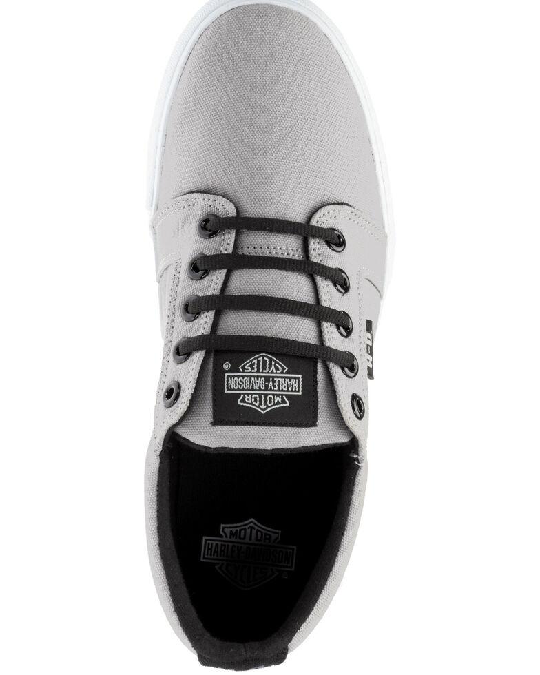 Harley Davidson Men's Ellis Canvas Shoes, Grey, hi-res