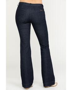 Wrangler Retro Women's Boone Mid Rise Trouser Jeans, Blue, hi-res