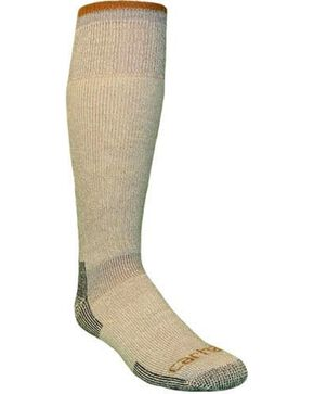 Carhartt Men's Arctic Wool Heavyweight Boot Socks, Grey, hi-res