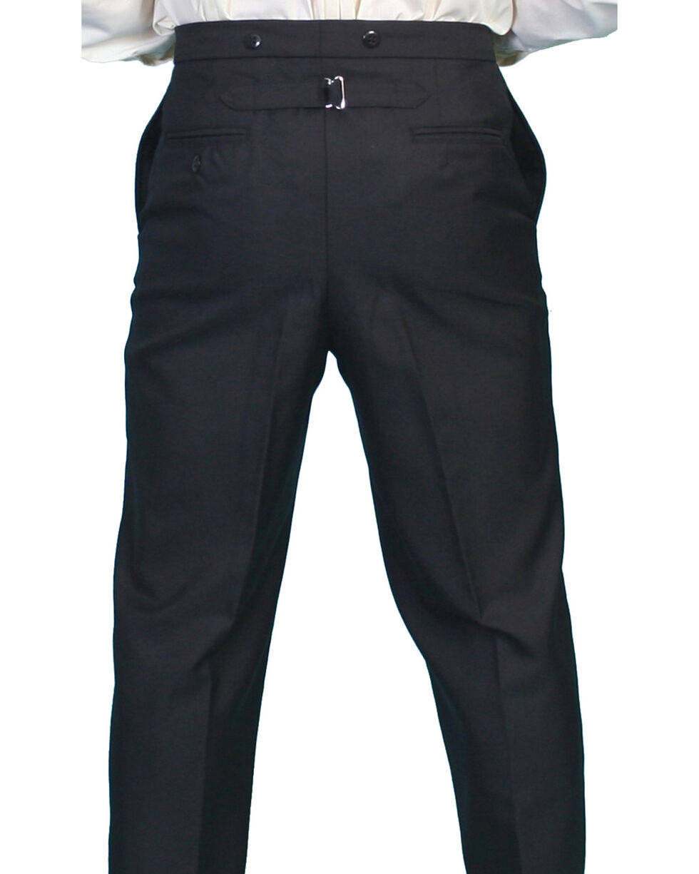 Wahmaker by Scully Wool Blend Highland Pants, Black, hi-res