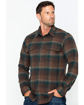 Filson Men's Vintage Flannel Work Shirt - Tall , , hi-res