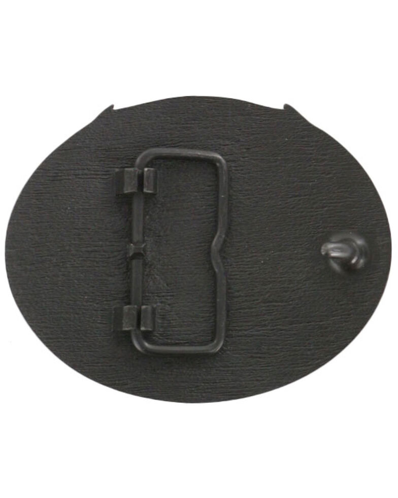 Cody James® Men's Deer Skull Belt Buckle, Bronze, hi-res