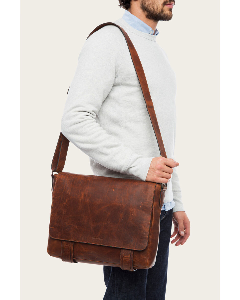 Frye Men's Logan Messenger Bag , , hi-res