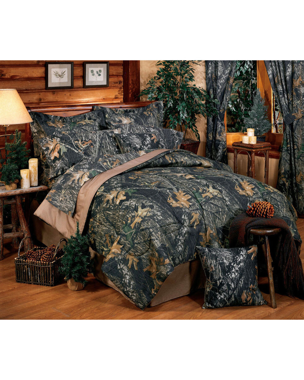 Mossy Oak New Break Up Twin Sheet Set, Camouflage, hi-res