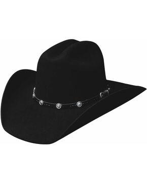 Bullhide Men's Congress 4 X Wool Hat, Black, hi-res