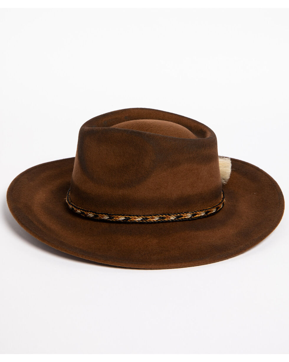 ále by Alessandra Women's Roxy Den Hat  , Brown, hi-res