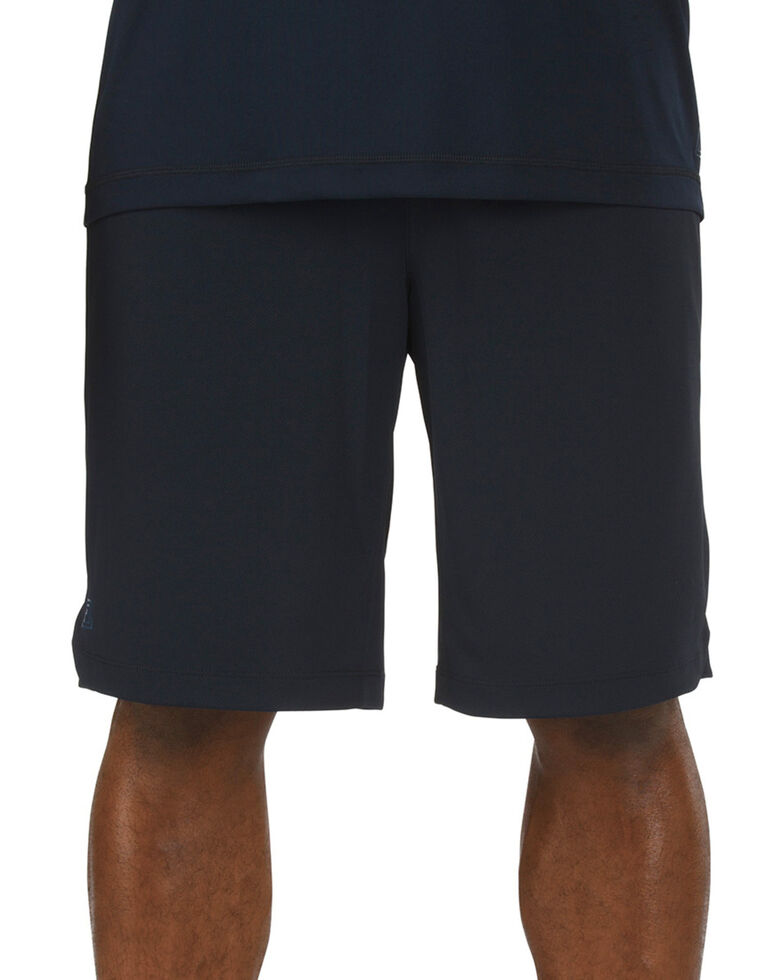 5.11 Tactical Men's Utility PT Shorts - 3XL, Navy, hi-res
