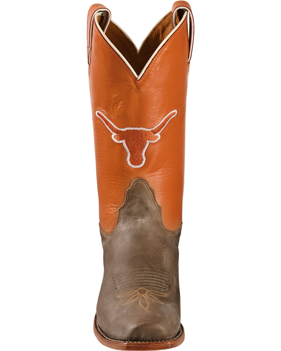 Nocona Women's University of Texas College Boots, Tan, hi-res