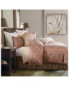 HiEnd Accents Super King 3 Piece Sedona Comforter Set , Pink, hi-res