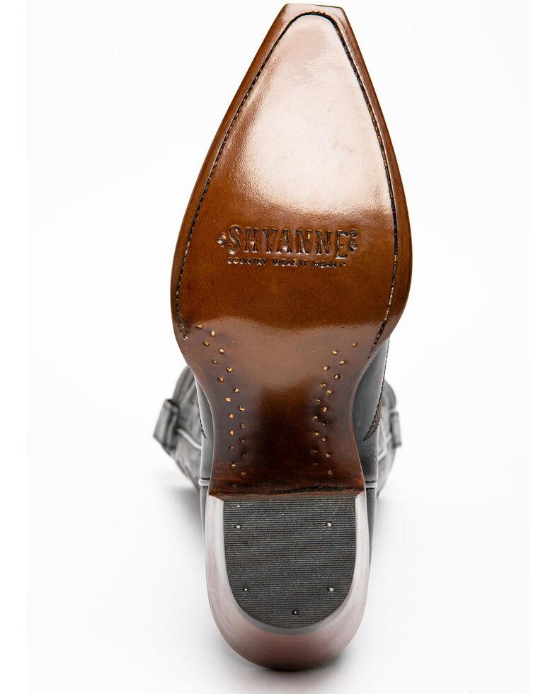 Shyanne Women's High Desert Western Boots - Snip Toe, Black, hi-res